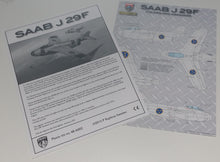 Load image into Gallery viewer, SAAB J 29 F, 1/48 scale