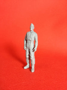 1/48 scale Swedish pilot as seen from the 1950s to the early 1970s. Art # 48P001