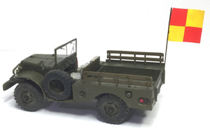 Dodge WC52 Jeep in 1/48 scale