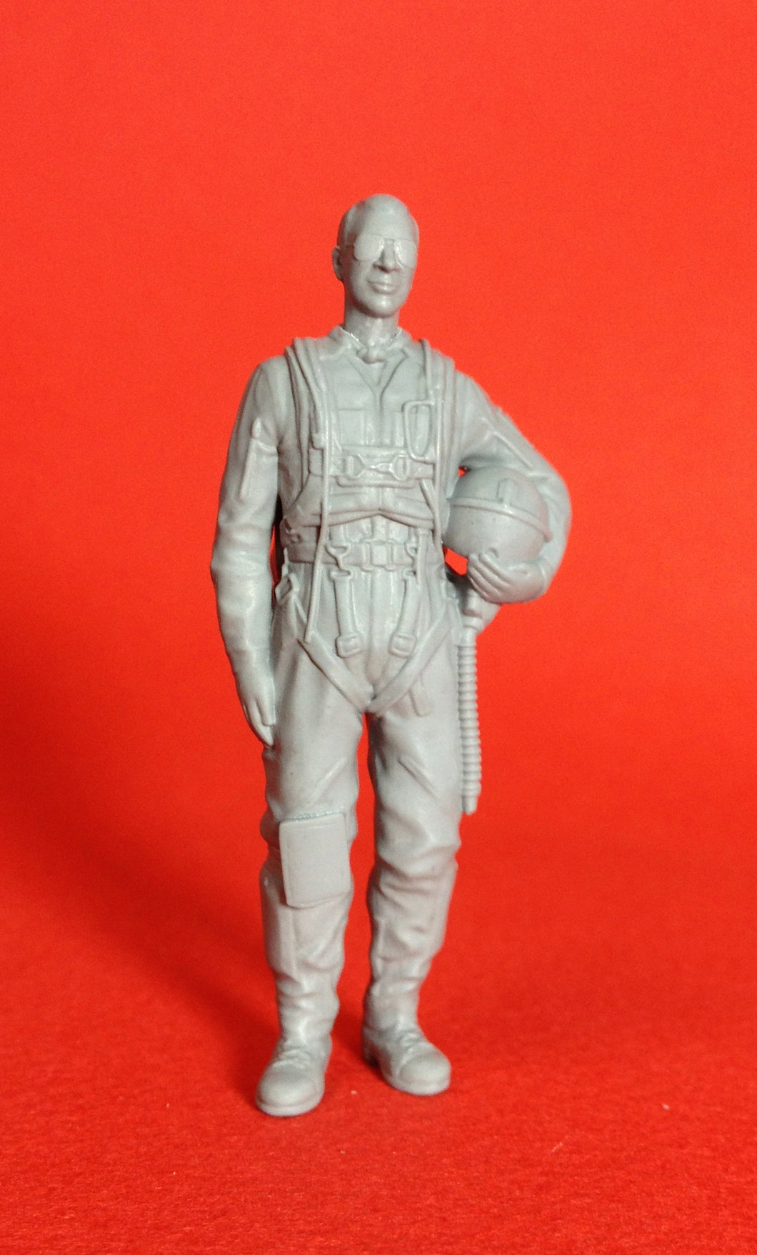 1/48 scale Swedish pilot as seen from the 1950s to the early 1970s. Art # 48P002