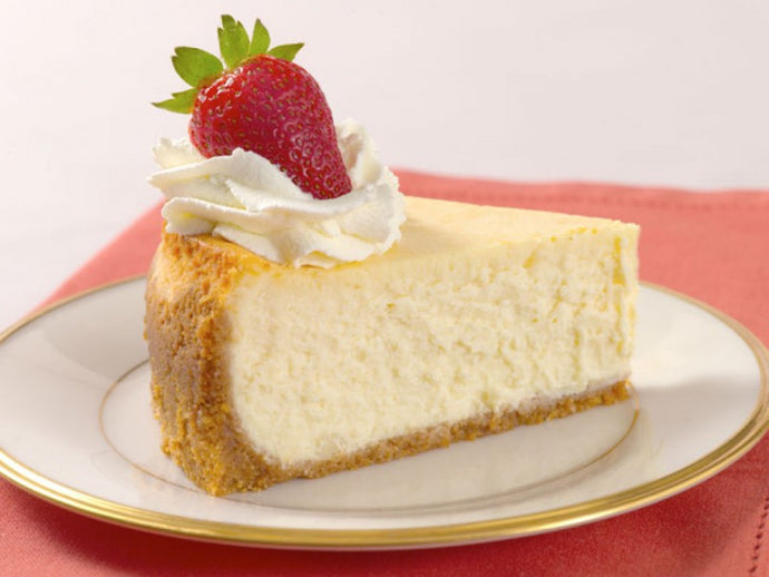 Gluten Free Plain Cheesecake