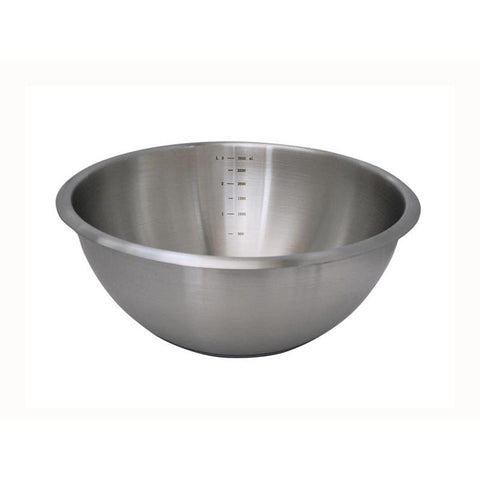 DE BUYER - 3373.20 - BASSINE DEMI-SPHERIQUE DE BUYER Ø 20 CM INOX