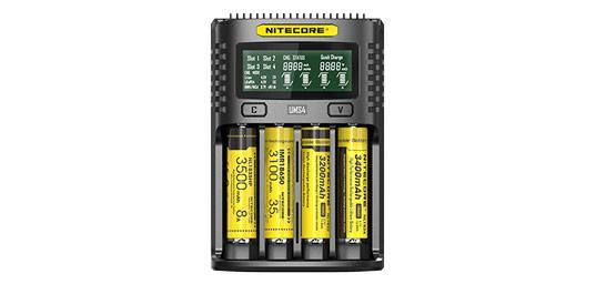 NITECORE - NCUMS4 - CHARGEUR UMS4