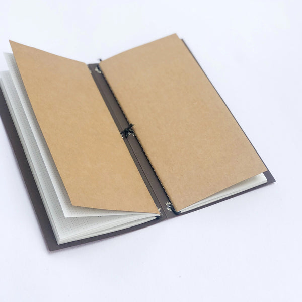 Twin books Journal - Dotted and Plain - ninegram.in