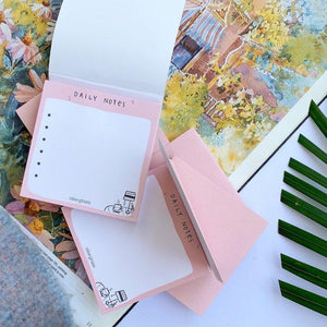 Pink Lemonade: Mini Daily Notes Pad - ninegram.in