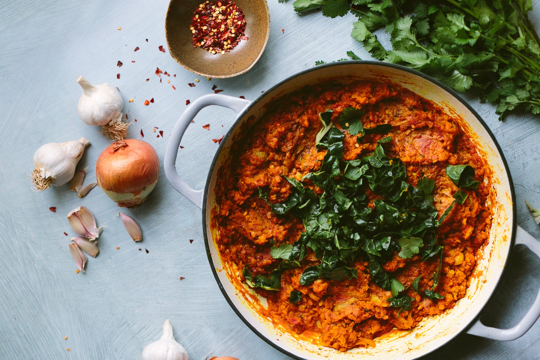 Vegan Red Lentil Dahl