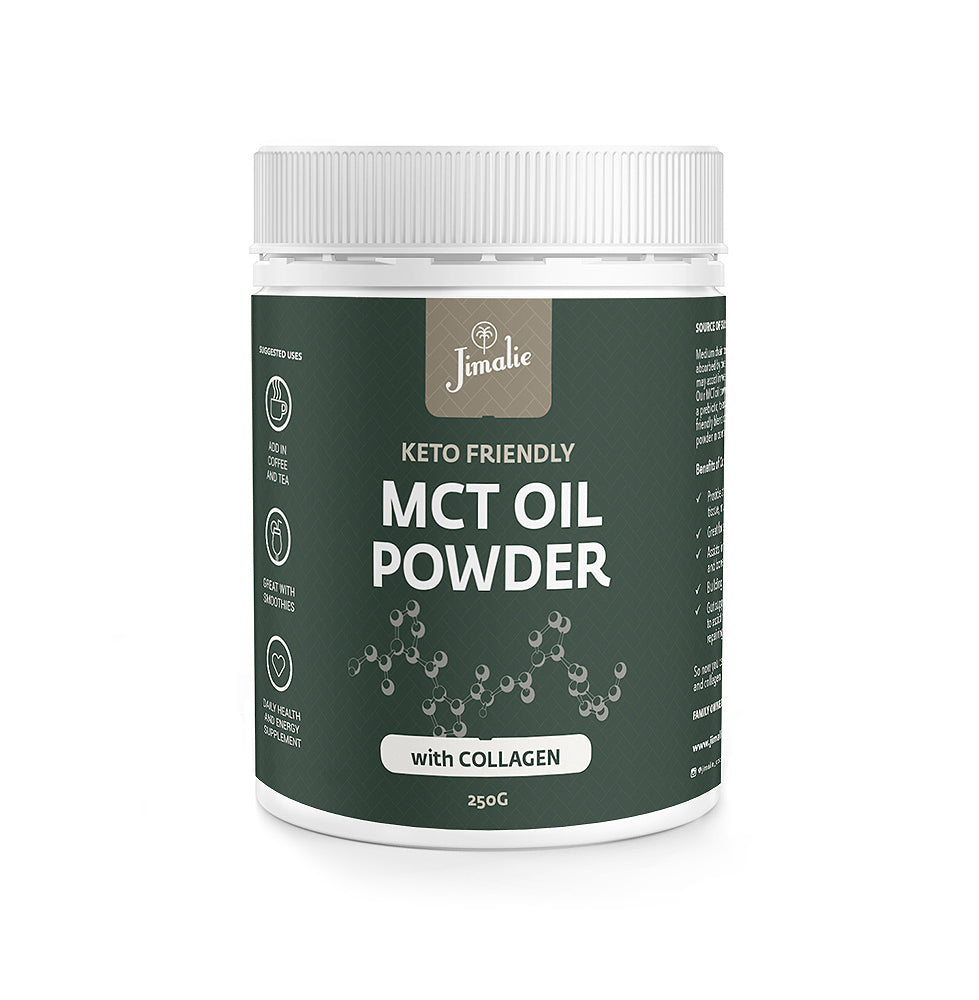 MCT Oil Powder with grass-fed Collagen