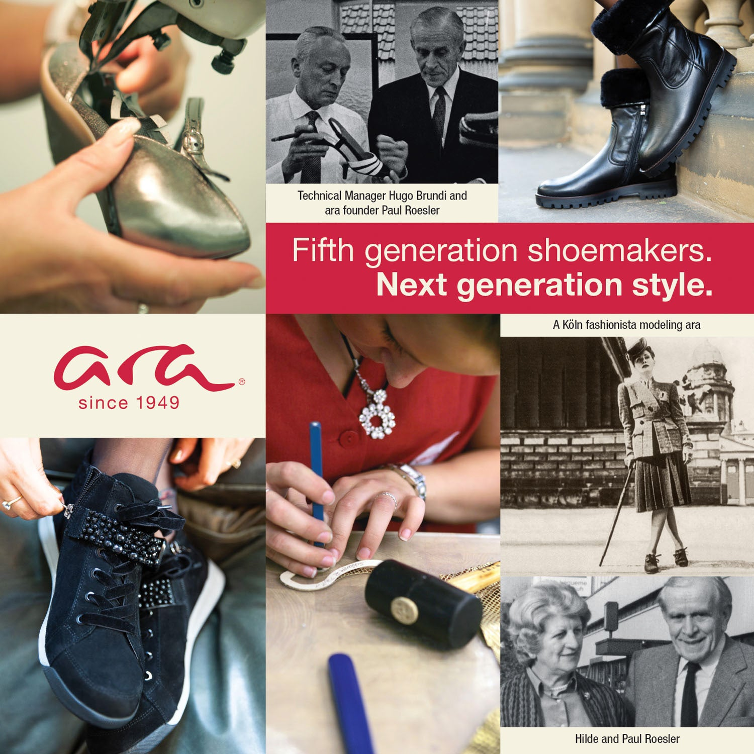 ABOUT ARA FOOTWEAR QUALITY AND STANDARDS