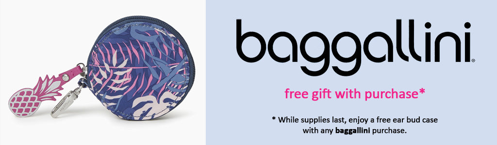 Free Gift with Purchase of any Baggallini item!