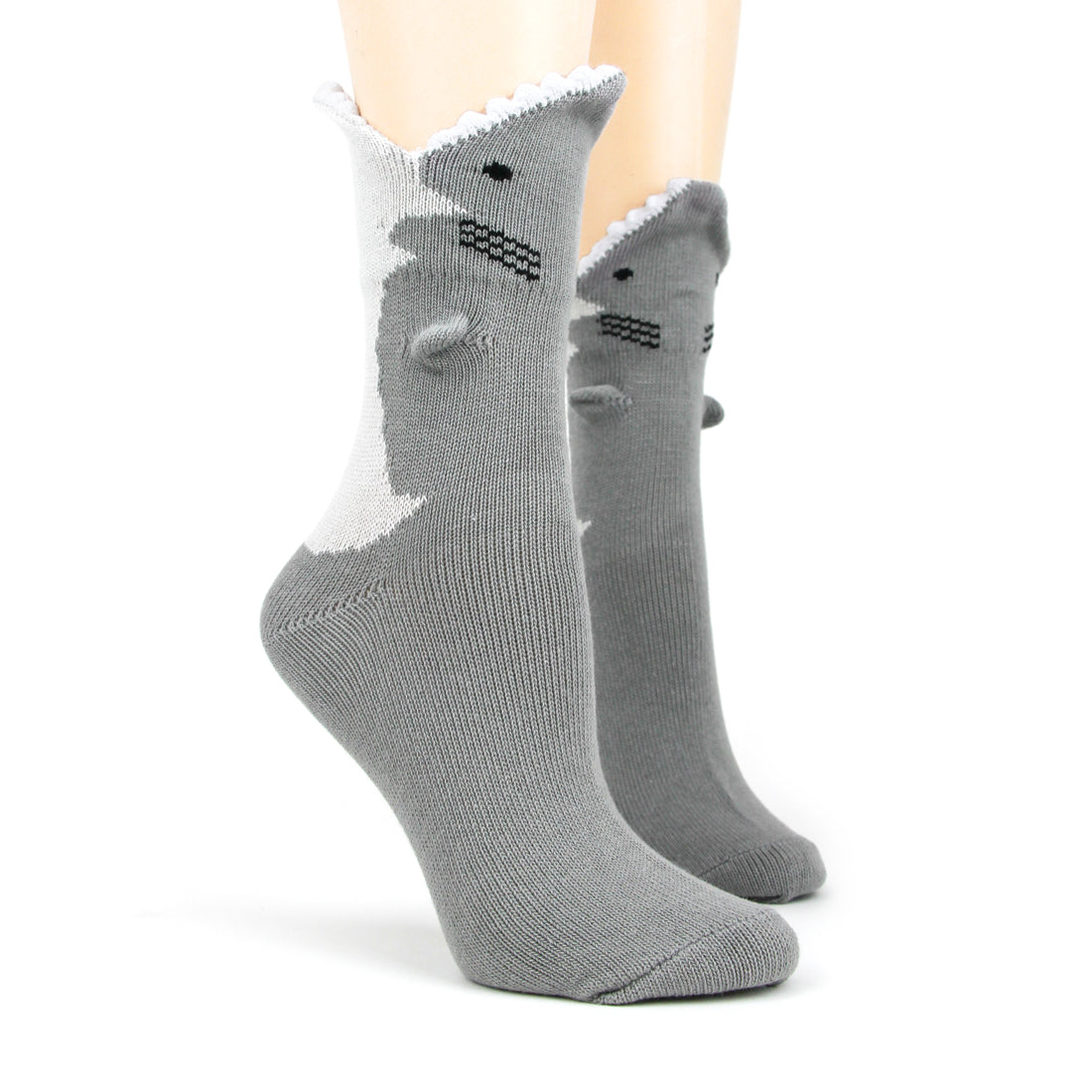 Great White 3D Socks