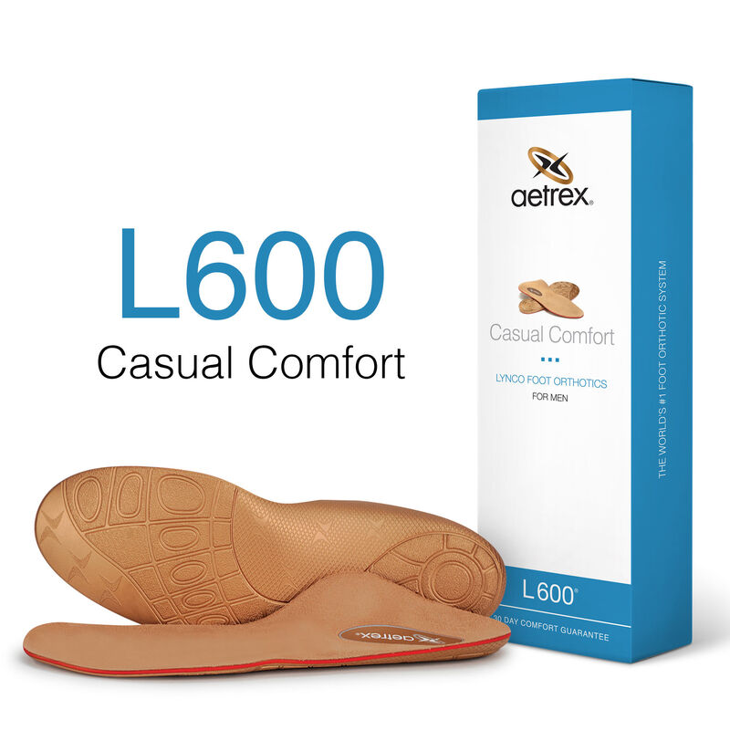 L600M Casual Orthotics