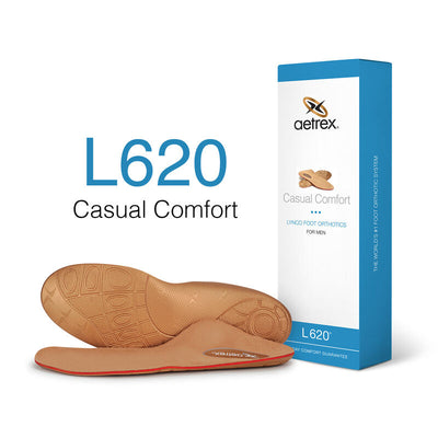 L620M Casual Posted Orthotics