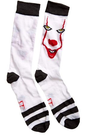IT THE MOVIE Mens 2 Pair PENNYWISE HALLOWEEN