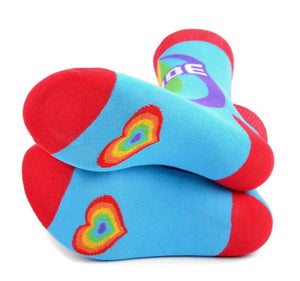 PARQUET BRAND Ladies PRIDE RAINBOW Socks - Novelty Socks for Less