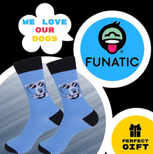 FUNATIC Brand Unisex 'MY DOG THINKS I'M COOL' Socks