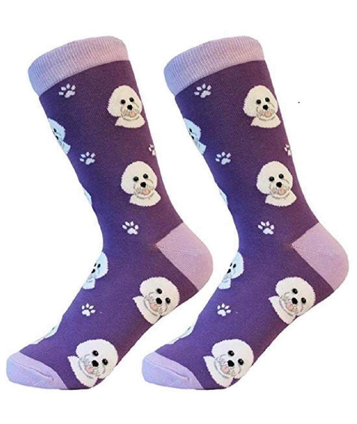 SOCK DADDY Brand Unisex BICHON FRISE Dog By E&S Pets