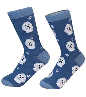 SOCK DADDY Brand Unisex POODLE Dog E&S Pets - Novelty Socks for Less