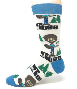 OOOH YEAH BRAND Men's ALWAYS BOB ROSS Socks - Novelty Socks for Less