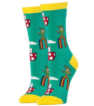 OOOH YEAH Brand Ladies 'HAPPY SHROOMS' Socks