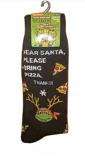 TEENAGE MUTANT NINJA TURTLE Men's CHRISTMAS Socks