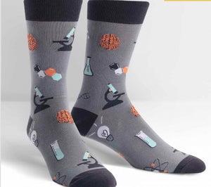 SOCK IT TO ME Mens SCIENCE/CHEMISTRY Socks - Novelty Socks for Less