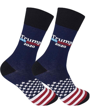 FUNATIC Brand TRUMP 2020 Socks - Novelty Socks for Less