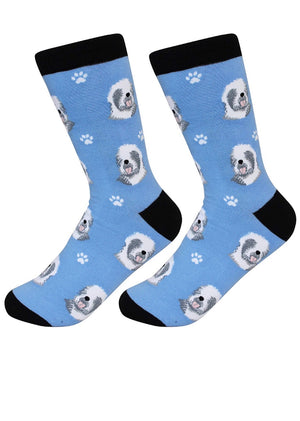 SOCK DADDY Brand OLD ENGLISH SHEEPDOG Unisex By E&S Pets