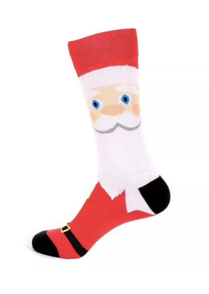 Parquet Brand SANTA CLAUS Mens Socks - Novelty Socks for Less