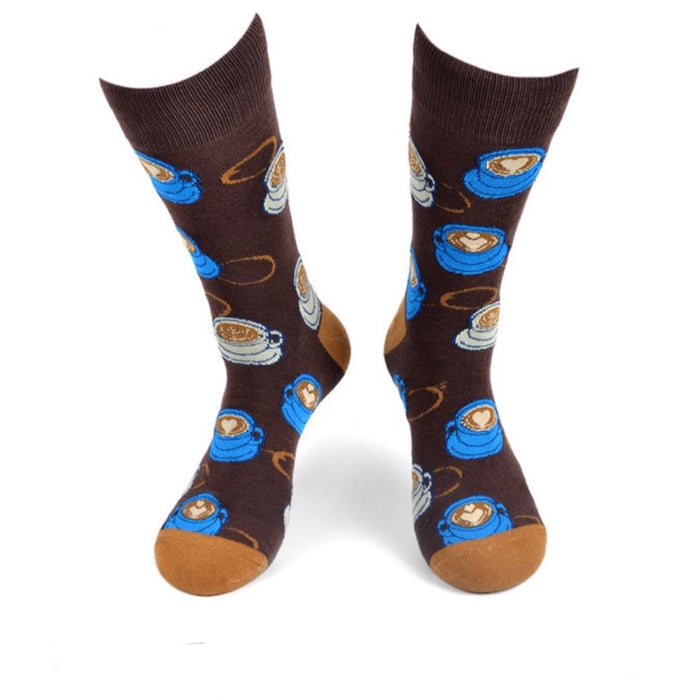 PARQUET BRAND Ladies COFFEE Socks