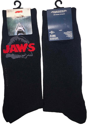 JAWS Men's Crew Socks - Novelty Socks for Less