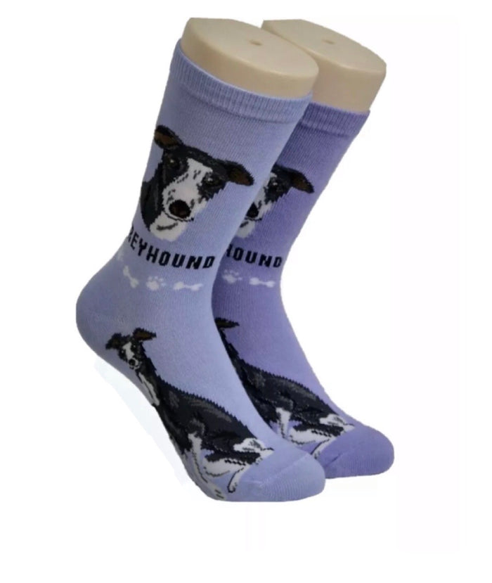 FOOZYS Ladies 2 Pair GREYHOUND DOG