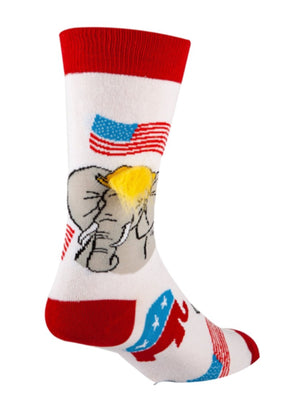 OOOH YEAH Mens REPUBLICAN Socks
