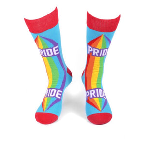 PARQUET BRAND Mens PRIDE/RAINBOW Socks - Novelty Socks for Less