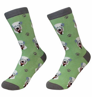 SOCK DADDY Brand Unisex SOFT COATED WHEATEN TERRIER DOG - Novelty Socks for Less