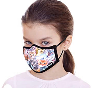 ODD SOX BRAND KIDS/YOUTH  FACE MASK 'CATS'