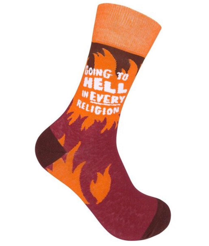 FUNATIC BRAND Socks GOING TO HELL
