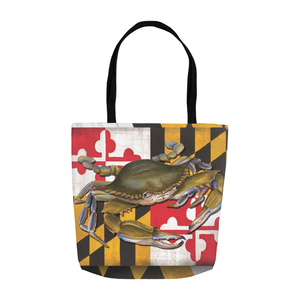 Tote Bag with Mary Lou Troutman Artwork