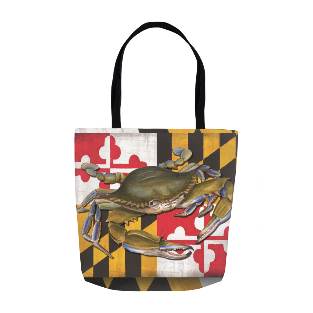 Beautiful Tote Bags with Vivid Full Color Dye Sublimation on Both Sides
