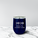 2020 Written By 12 oz. Stemless Tumbler