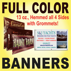 Copy of Full Color Banner - 13 oz