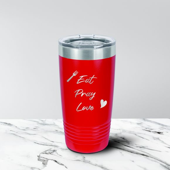 Eat Pray Love 20 oz. Tumbler