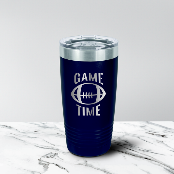 Football Fan 12 oz. Stemless Tumbler