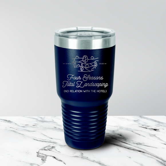 Four Seasons Total Landscaping 30 oz. Tumbler