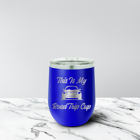 Road Trip 12 oz. Stemless Tumbler