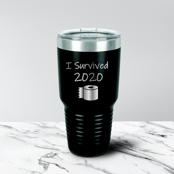 Survived 2020 30 oz. Tumbler