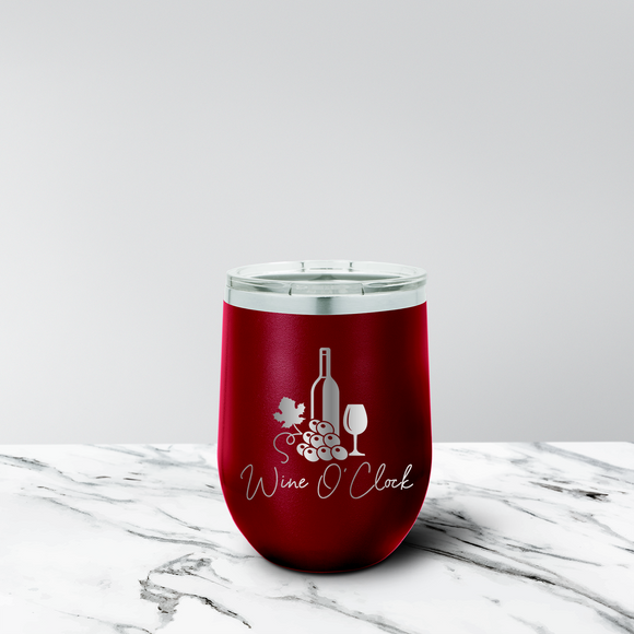 Wine Mom 12 oz. Stemless Tumbler