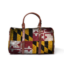 Load image into Gallery viewer, Maryland Flag Travel Bag
