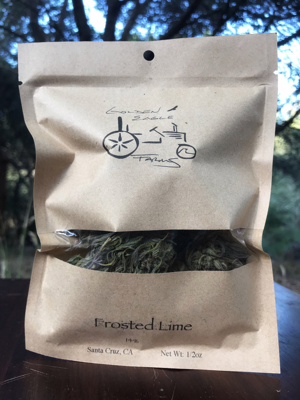 Frosted Lime - Hemp Flower (Wholesale) - Golden Eagle Farms