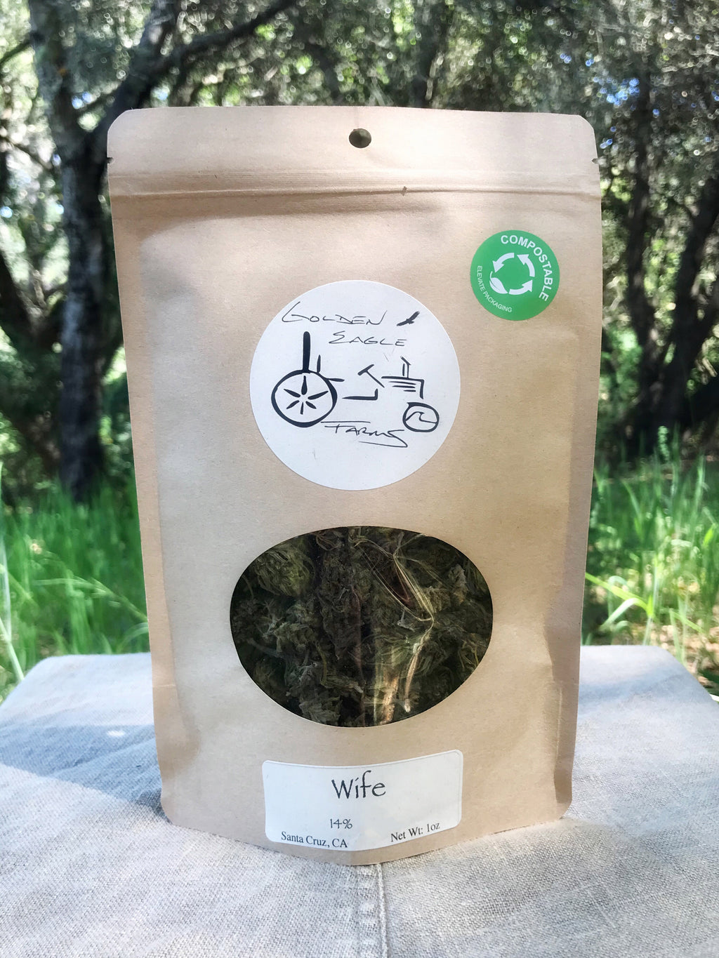 The Wife - Hemp Flower (Wholesale) - Golden Eagle Farms