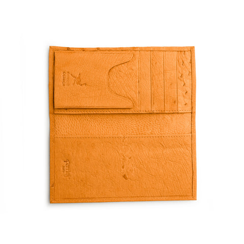 Smooth Ostrich Checkbook